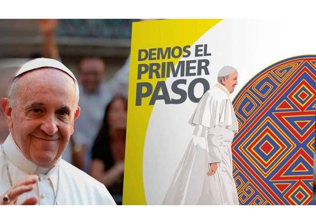 Papa Francesco parte in Colombia: