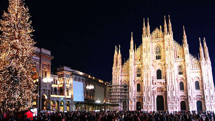 Milano – Advent i Leonardo da Vinci