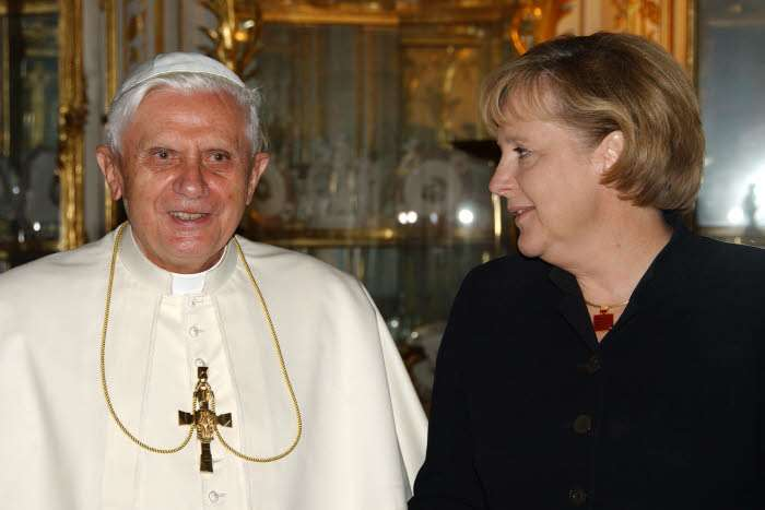 Papa Francesco e Angela Merkel: