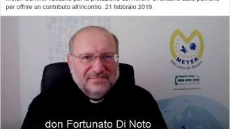 Meter, le testimonianze e le conferenze on line di Don Di Noto